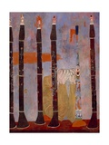 Composition for Clarinets and Tin Horn, 1951 Giclee Print by Ben Shahn