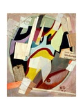 Chocolate, 1947 Giclee Print by Kurt Schwitters