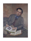 Portrait of Fred Uhlman, 1940 Giclee Print by Kurt Schwitters