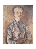 Portrait of the Marquis Robert De Montesquiou-Fezensac, 1910 Giclee Print by Oskar Kokoschka