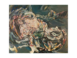 The Wind's Fiancee, 1914 Giclee Print by Oskar Kokoschka