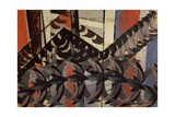 Flight of Swallows Giclee Print by Giacomo Balla