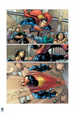 Superman: Superman Flying Comic Panel Prints