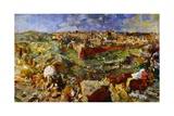View of Jerusalem, 1929-30 Giclee Print by Oskar Kokoschka