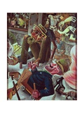 Pragerstrasse, 1920 Giclee Print by Otto Dix