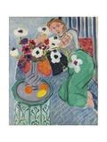 Odalisque, Blue Harmony, 1937 Giclée-trykk av Henri Matisse