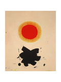 Orange Glow, 1967 Giclee Print by Adolph Gottlieb