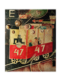 The Tram, 1919 Giclée-Druck von Otto Dix