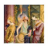 Three Prostitutes on the Street, 1925 Giclée-Druck von Otto Dix