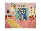 The Pink Studio, 1911 Giclée-trykk av Henri Matisse