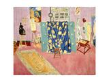 The Pink Studio, 1911 ジクレープリント : アンリ・マティス