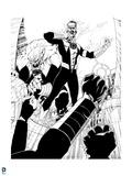 Green Lantern: Green Lantern: Sinestro and Kilowog (Black and White) Posters