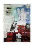 Robert Rauschenberg - Tracer, 1964 Digitálně vytištěná reprodukce