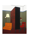 Room Divider, 1971 Giclee Print by Patrick Caulfield