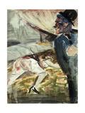 Murder; Mord, 1922 Giclée-Druck von Otto Dix