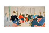 Rose Room, 1981 Stampa giclée di Alex Katz
