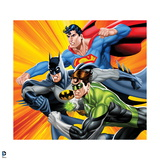 Justice League: Green Lantern, Batman, and Superman Posters