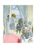 The Regattas at Nice, 1921 Giclée-Druck von Henri Matisse