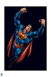 Superman: Superman Flying Poster