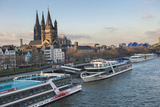 The Great Saint Martin Church and Cologne Cathedral, Cologne, Germany Photographic Print by Lisa S. Engelbrecht