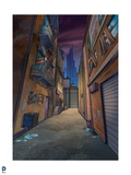 Batman: View of Alley Way Posters