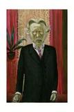 Portrait of Dr Heinrich Stadelmann, 1922 Giclee Print by Otto Dix