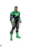 Justice League: Green Lantern: John Stewart Print