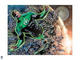 Green Lantern: Green Lantern: John Stewart (Color) Art