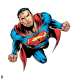 Justice League: Superman Flying Prints
