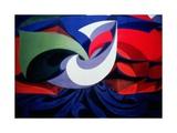 Italian Futurist Piece Impression giclée par Giacomo Balla