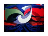 Italian Futurist Piece Giclee Print by Giacomo Balla
