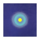 Luna in Blue from the Series Mysteries, 2000 Giclee Print by Kenneth Noland