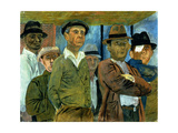 Unemployment Giclee Print by Ben Shahn