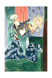 Calla Lilies, Irises and Mimosas, 1931 Giclée-trykk av Henri Matisse