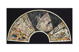 Fan for the Wiener Werkstaette Giclee Print by Oskar Kokoschka