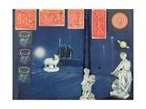 Untitled, c.1962 Gicléetryck av Joseph Cornell