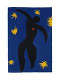Icarus, Plate VIII from 'Jazz', 1947 Giclée-trykk av Henri Matisse