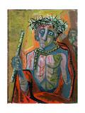 Ecce Homo, 1949 Gicléetryck av Otto Dix