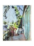 The Terrace, St. Tropez, 1904 Giclée-trykk av Henri Matisse