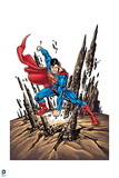 Superman: Superman Smashing Ground Posters