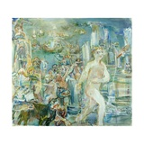 Right Panel of the Thermopylae Triptych, 1954 Giclee Print by Oskar Kokoschka