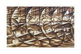 Dynamic Expansion and Speed, 1913 Gicléetryck av Giacomo Balla
