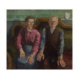 The Artist's Parents II, 1924 Giclée-Druck von Otto Dix
