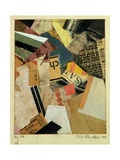 MZ 318 Ch., 1921 Giclee Print by Kurt Schwitters