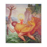 St. Christopher and the Christ Child Giclée-Druck von Otto Dix