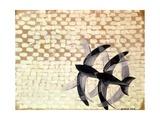 Flight of the Swifts, 1913 Impression giclée par Giacomo Balla