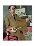 Self Portrait, 1918 Giclee Print by Henri Matisse
