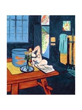 Interior with Goldfish, 1912 Reproduction procédé giclée par Henri Matisse