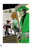 Batman: Poison Ivy Catwoman and Harly Quin Standing in an Office with the Riddler Prints