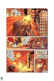 Superman: Superman Attacking Villian with Laser Eyes (Dialogue) Prints